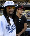 Taylor Lautner and Lil'Jon