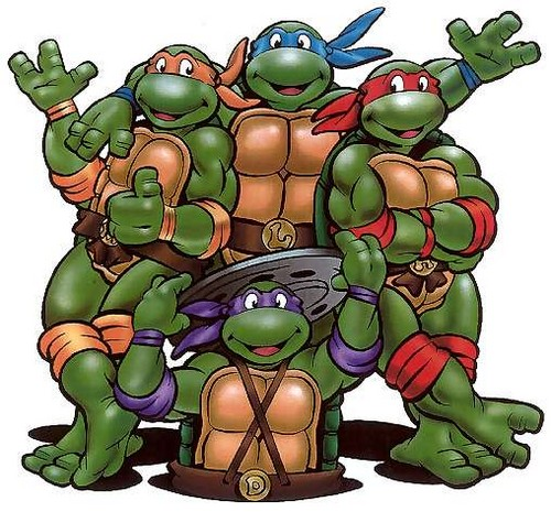 Memorable TV wallpaper containing anime titled Teenage Mutant Ninja Turtles