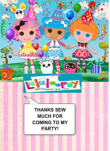 Lalaloopsy wallpaper entitled Thanks sew much for coming