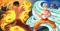 The Firelord and the Avatar - avatar-the-last-airbender fan art