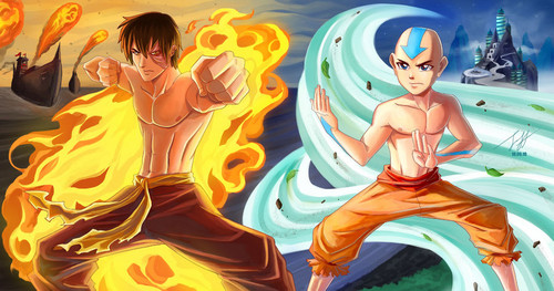 The Firelord and the avatar