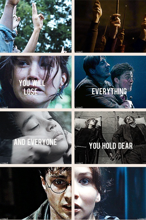 The Hunger Games/Harry Potter