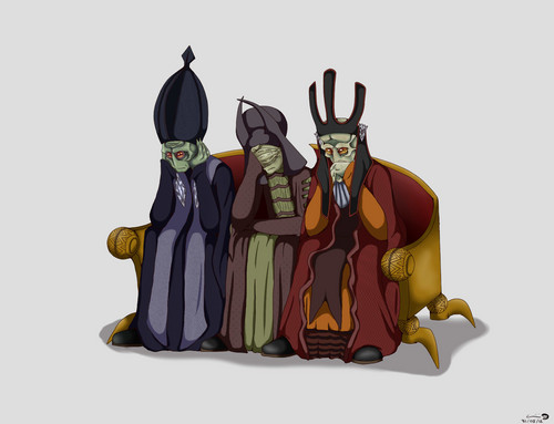 The Three Wise Neimoidians