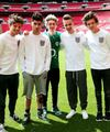 The boys at Wembley Stadium - one-direction photo