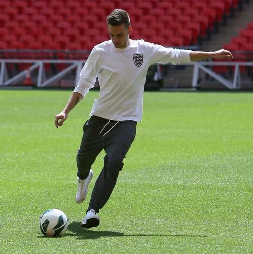 The boys at Wembley Stadium