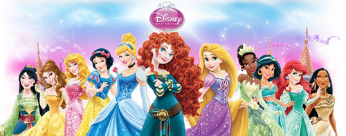 The official ディズニー Princess line-up