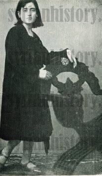 The young Syrian singer Asmahan - Cairo 1932