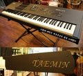 This keyboard, which is one of Taemin's coming-of-age gift, actually has his name on it too - shinee photo