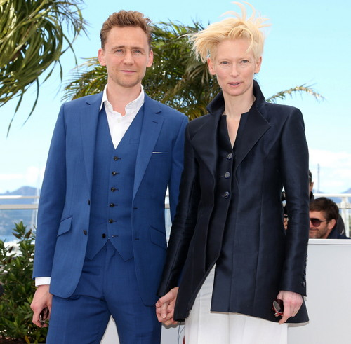 Tom and Tilda at Cannes 2013