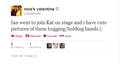 Tweets about Ian and Kat at the convention in Paris - damon-and-bonnie photo