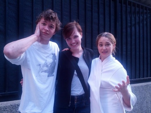 Twitter Pic: Shai, Ansel and Veronica!