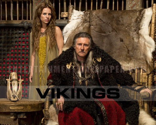 Vikings (TV Series) wolpeyper possibly containing a kalye and a balahibo amerikana titled Vikings
