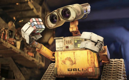 WALL-E Hintergrund called Wand E