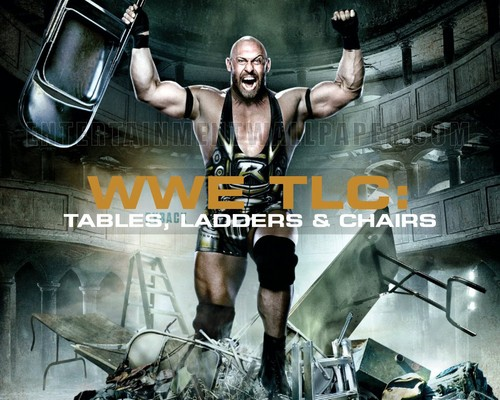 WWE wallpaper entitled WWE TLC: Tables, Ladders & Chairs