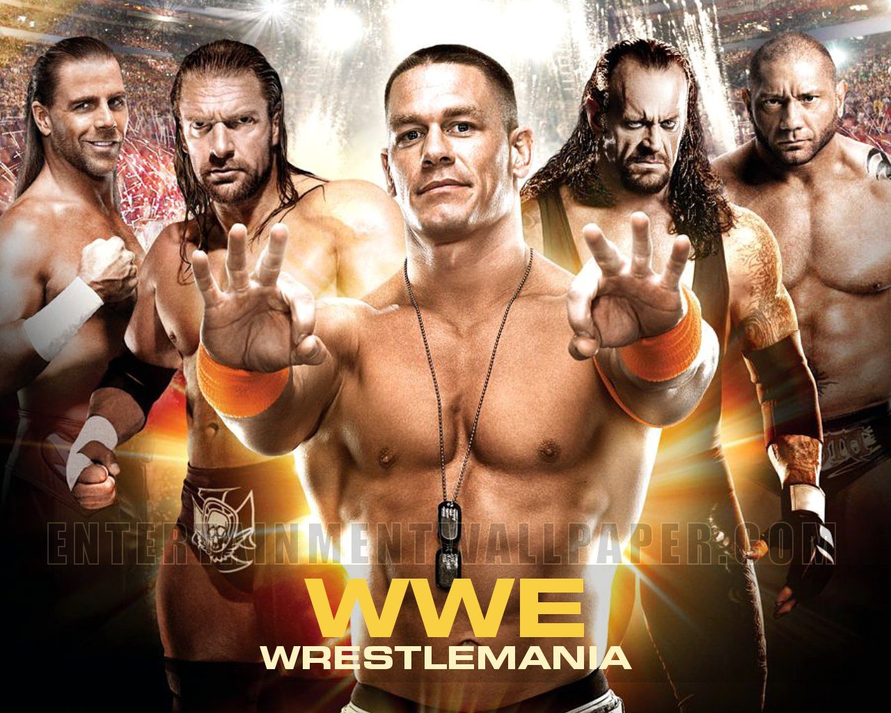 WWE Wrestlemania - WWE Wallpaper (34563994) - Fanpop