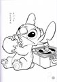 Walt Дисней Coloring Pages - Stitch