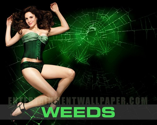 Weeds wallpaper probably with a leotard called Weeds