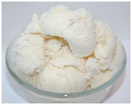 White आइस क्रीम