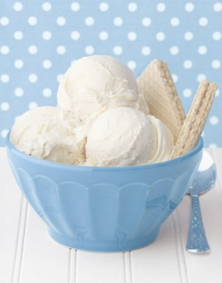 White Ice-Cream