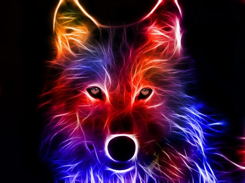 بھیڑیا Art