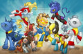 X-men - my-little-pony-friendship-is-magic fan art