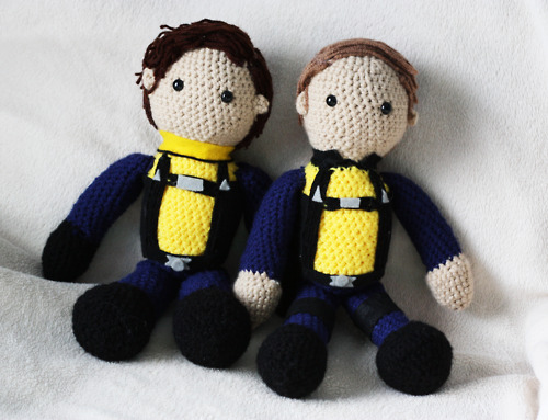 James McAvoy and Michael Fassbender wallpaper called Xavier & Magneto Dolls