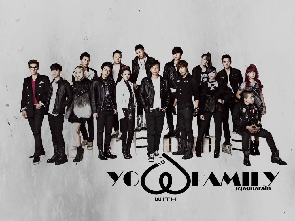 YG Family - YG Entertainment Wallpaper (34570212) - Fanpop