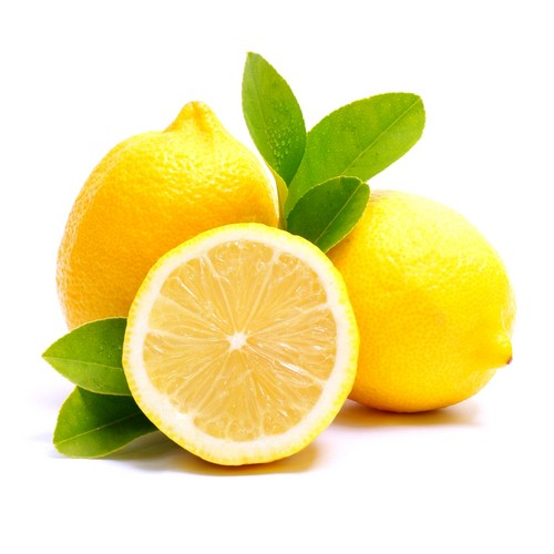 Yellow lemon, limau