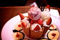 Yummy kulay-rosas Ice-Cream