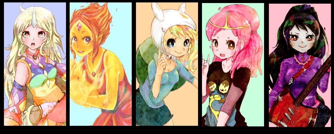 adventure time finn anime