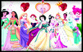all princess - walt-disney-characters fan art
