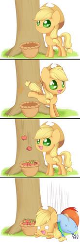 苹果 bucking