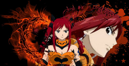 Erza Scarlet wallpaper entitled assig