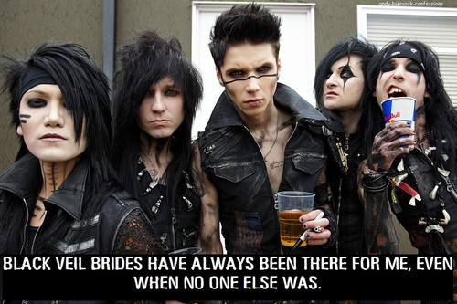 Black Veil Brides wallpaper entitled bvb