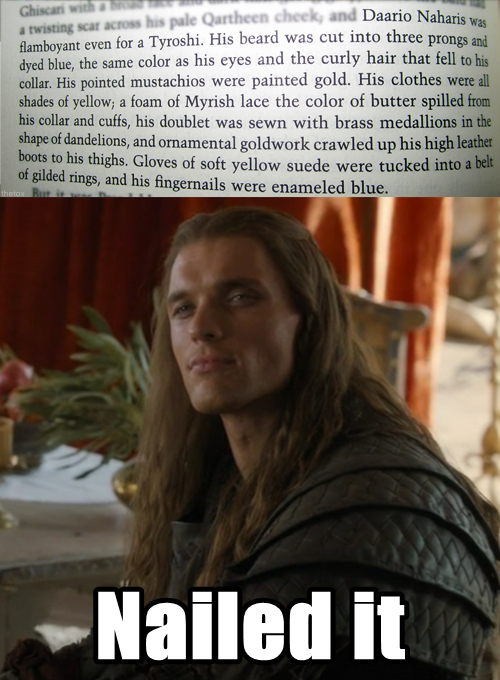 [Season 4] Anyone know why they recast Daario Naharis? I ... Daario Naharis Season 4