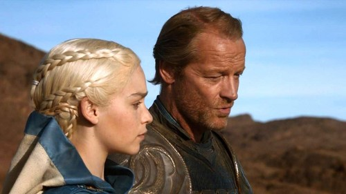 Daenerys Targaryen fond d'écran called dany and jorah