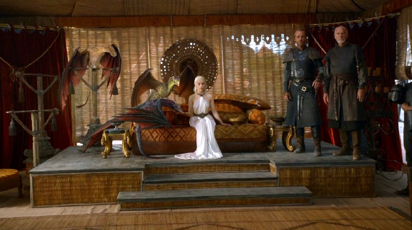 dany with jorah and barristan