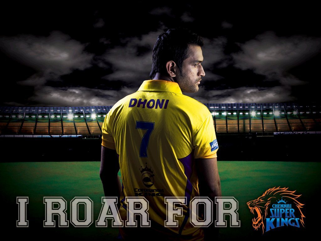 CSK- Chennai Super Kings Images Dhoni HD Wallpaper And
