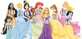 disney princesses age - disney-princess photo
