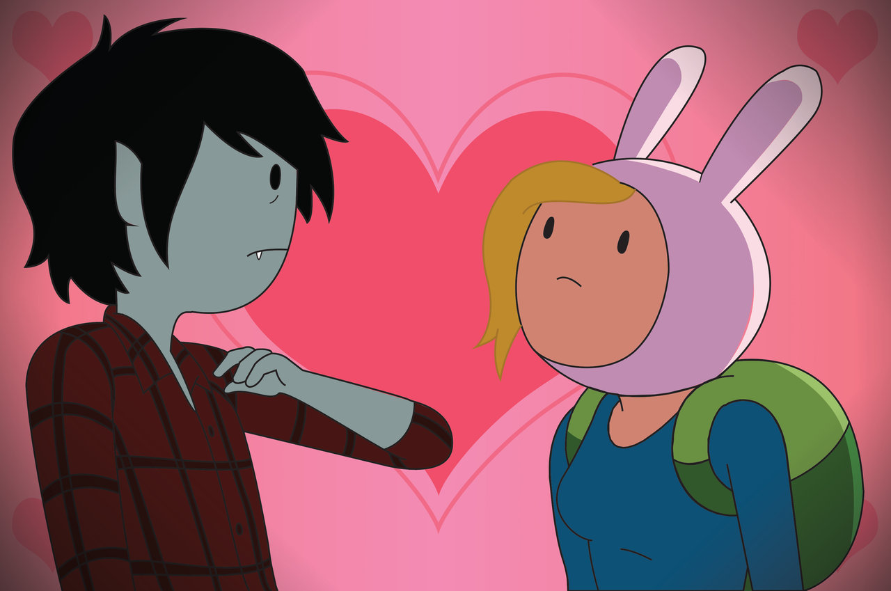 Adventure Time ... Adventure Time Anime Marshall Lee And Fionna