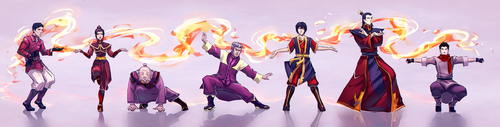 Avatar: The Legend of Korra wallpaper titled fire bender