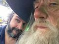 gandalf and peter - lord-of-the-rings photo
