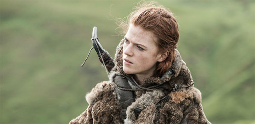 Game of Thrones wallpaper possibly containing a fur coat called Ygritte
