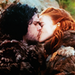 Jon &amp; Ygritte - game-of-thrones icon