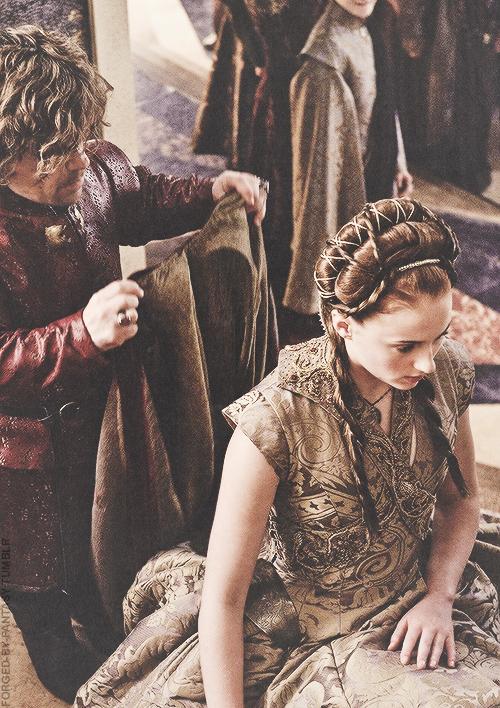 Tyrion Lannister & Sansa Stark - Game of Thrones Fan Art ...