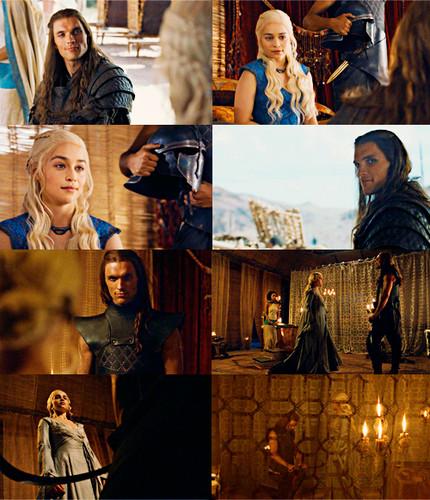Game of Thrones images Daenerys Targaryen & Daario Naharis ... Daario Naharis And Daenerys
