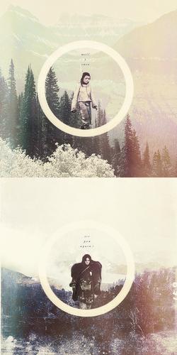 Jon Snow & Arya Stark