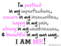 imperfection - quotes photo