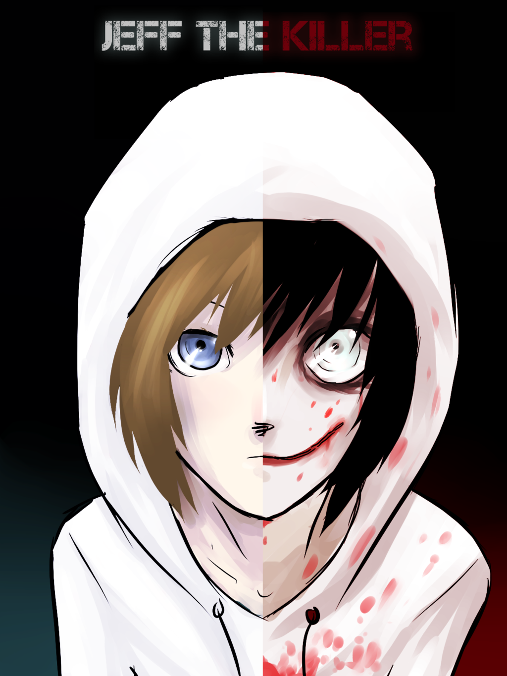 Jeff the killer jeff (before and after