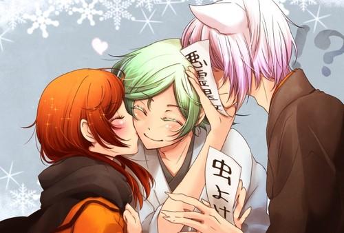 Kamisama baciare wallpaper containing Anime called kamisama hajimemashita